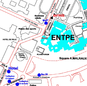 Location of ENTPE